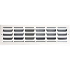 24 in. x 8 in. Return Air Grille Vent Cover