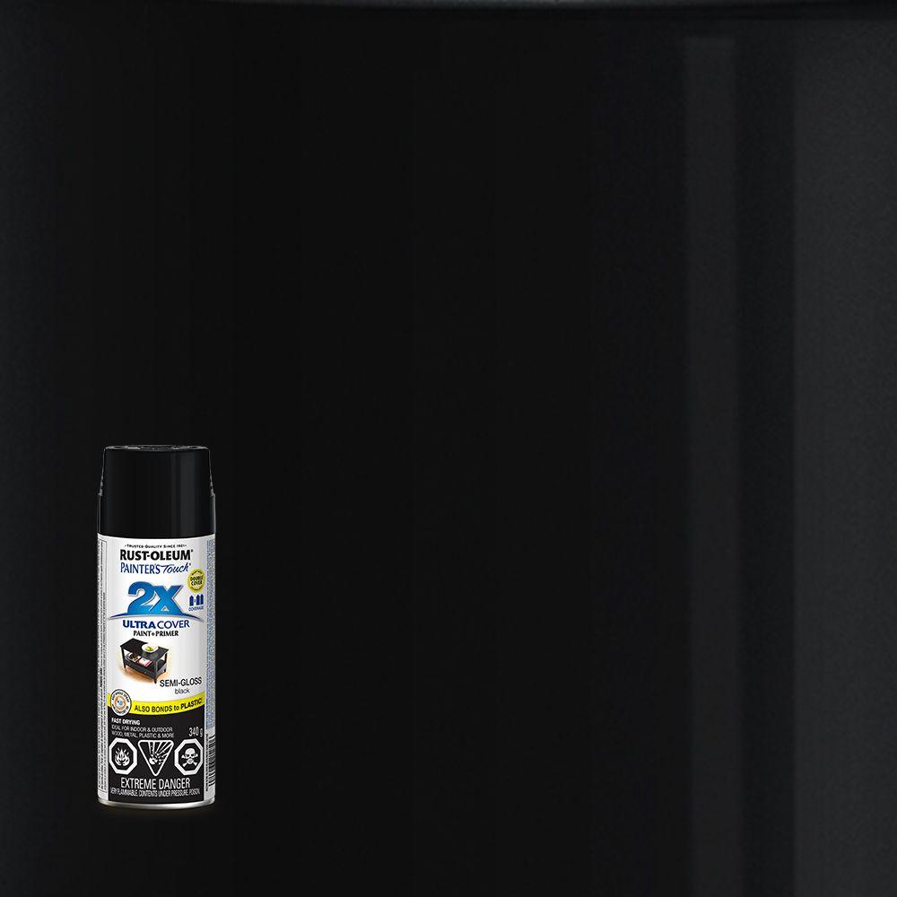 Pt 2X Semi Gloss Black 340G