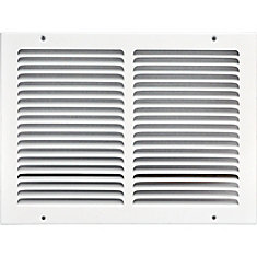 Grille dextraction d'air 12 x 10 po
