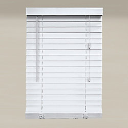 Home Decorators Collection 2-inch Faux Wood Blind in White - 60-inch L x 47.5-inch W