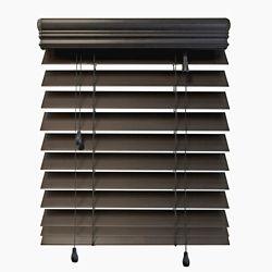 Home Decorators Collection Stores en bois dimitation de qualité supérieure de 6,35 cm (2 ½ po), Espresso, 152cmx183cm (Largeur réelle 151cm)
