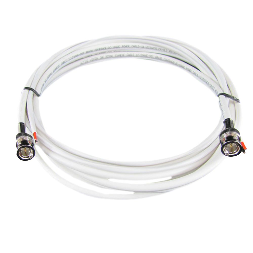 RG-59 Cable Kit Siamese 100 ft. with 2 BNC ends