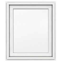 30-inch x 36-inch 5000 Series Right Handed Vinyl Casement Window with J Channel Brickmould - ENERGY STAR®
