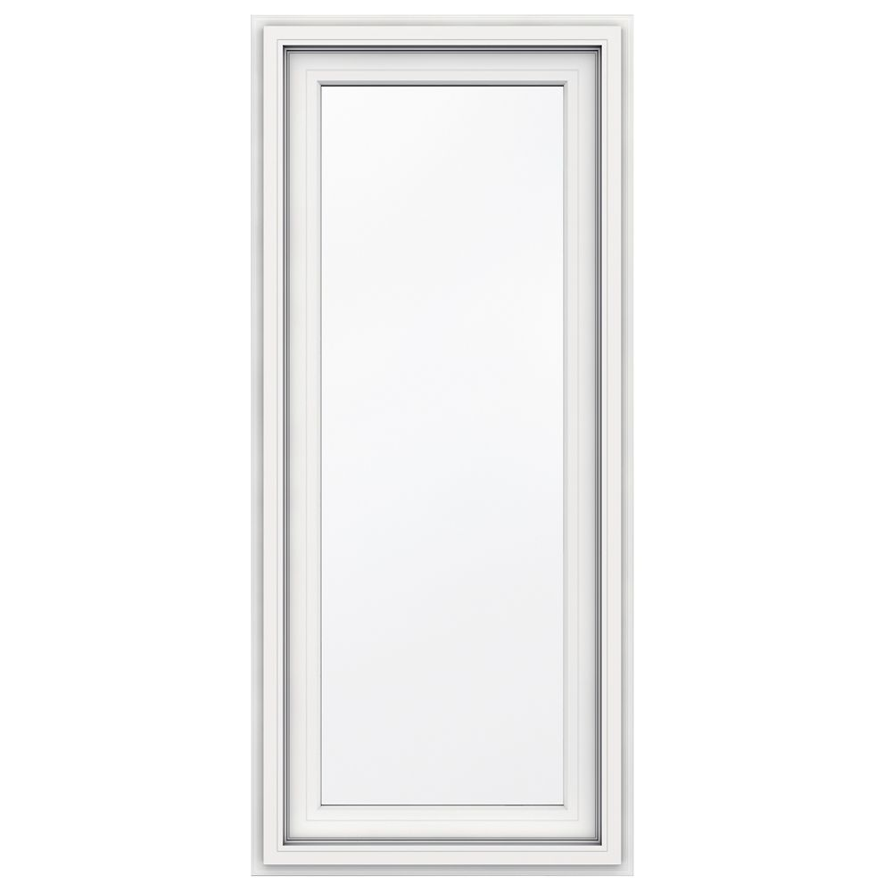 5000 series vinyl single hung window 24x36 3 1 4 inch for 14 inch window