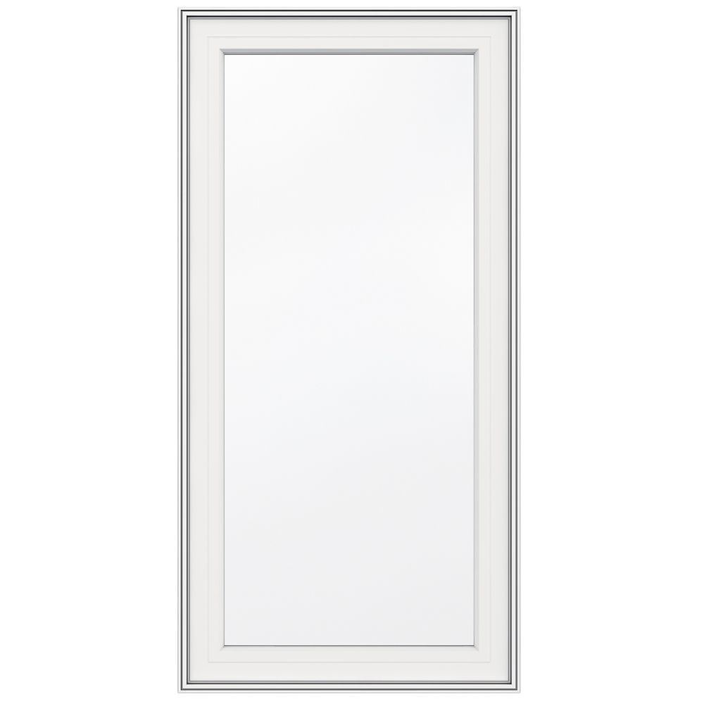 24-inch x 48-inch 5000 Series Vinyl Left Handed Casement Window with 4 9/16-inch Frame