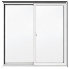 48-inch x 48-inch 5000 Series Vinyl Double Sliding Window with 4 9/16-inch Frame - ENERGY STAR®