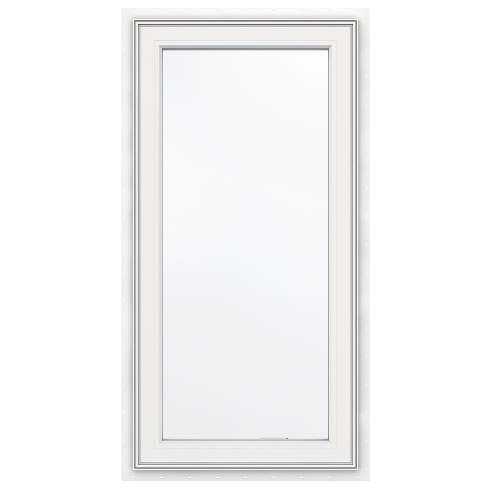 3500 series vinyl right handed casement window 24 inch x for Jeld wen casement window prices