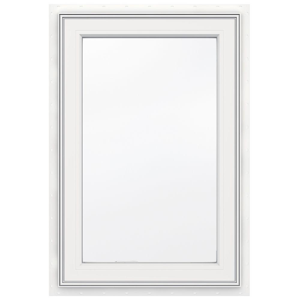 Jeld wen windows doors 24 inch x 36 inch 3500 series for Vinyl casement windows
