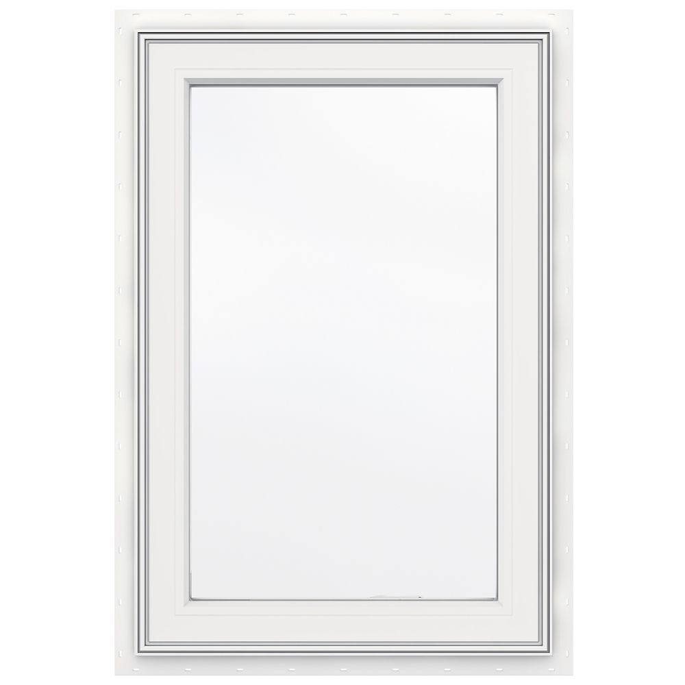 3500 SERIES Vinyl Right Handed Casement Window 24 Inch x 36 Inch