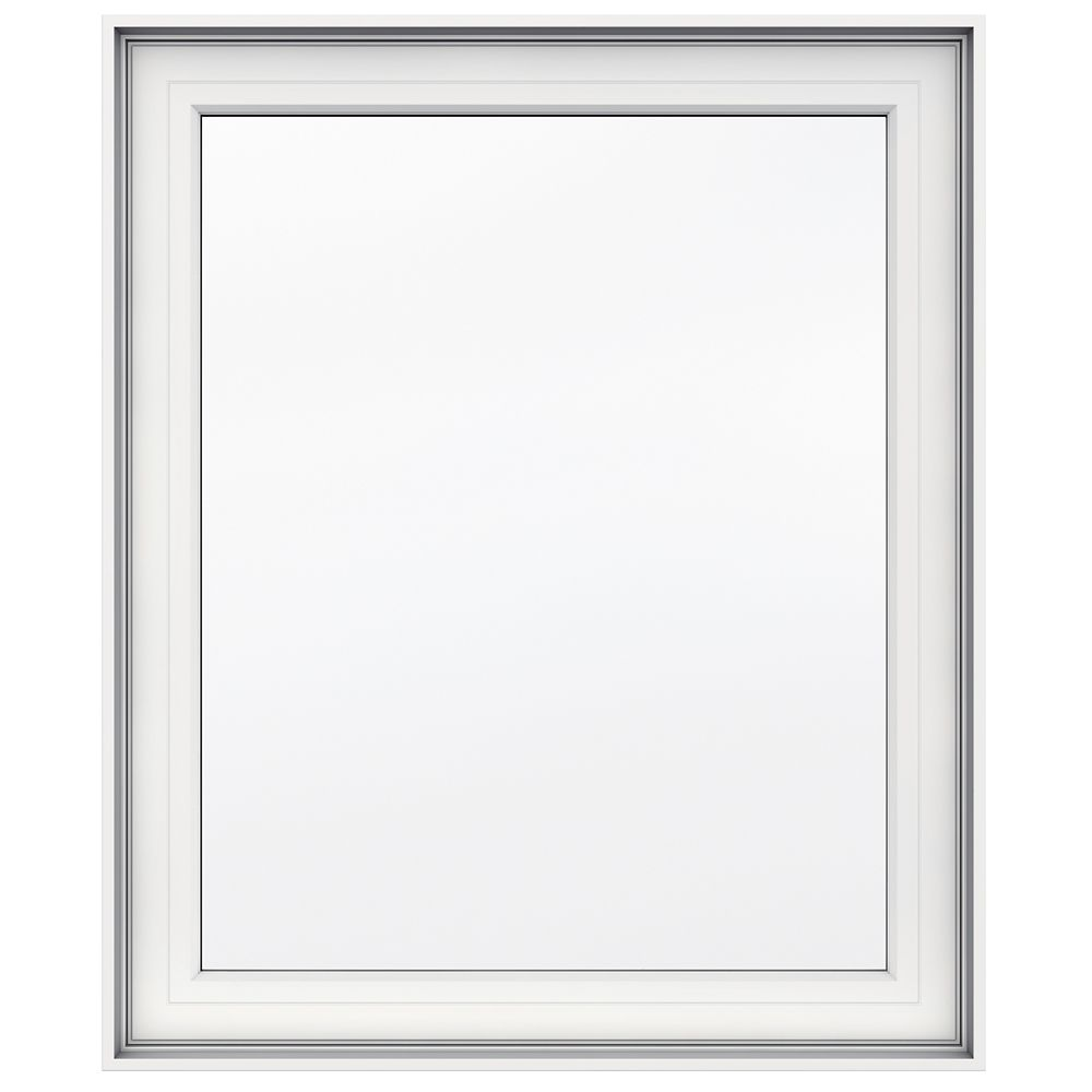 30-inch x 36-inch 5000 Series Vinyl Left Handed Casement Window with 4 9/16-inch Frame
