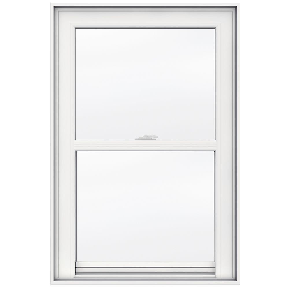 24-inch x 36-inch 5000 Series Single Hung Vinyl Window with 4 9/16-inch Frame