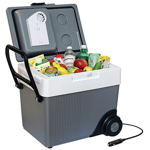 Koolatron Kargo Kooler 12V Travel Cooler with Wheels
