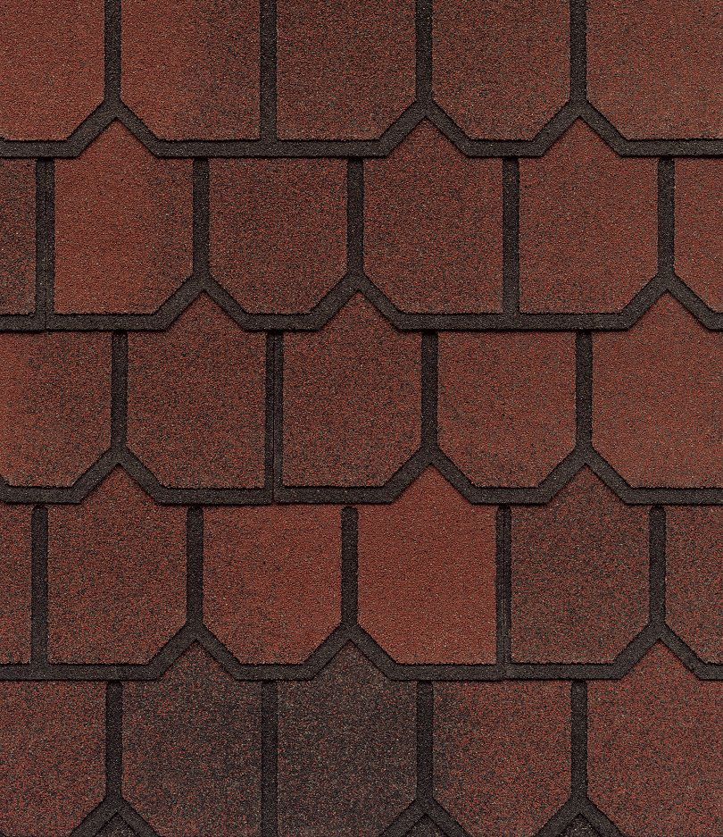Country Mansion II Tucan Red Lifetime Designer Shingles