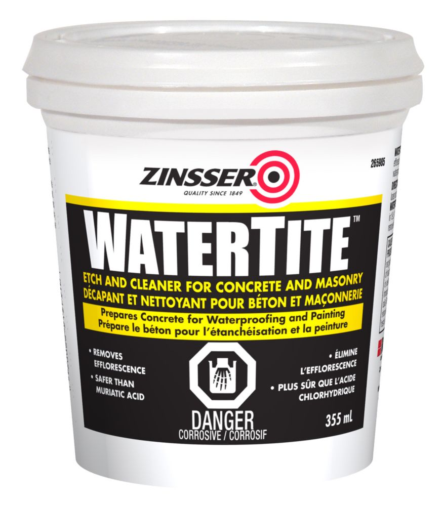 Zinssr Watertite Etch Cleaner 355Ml