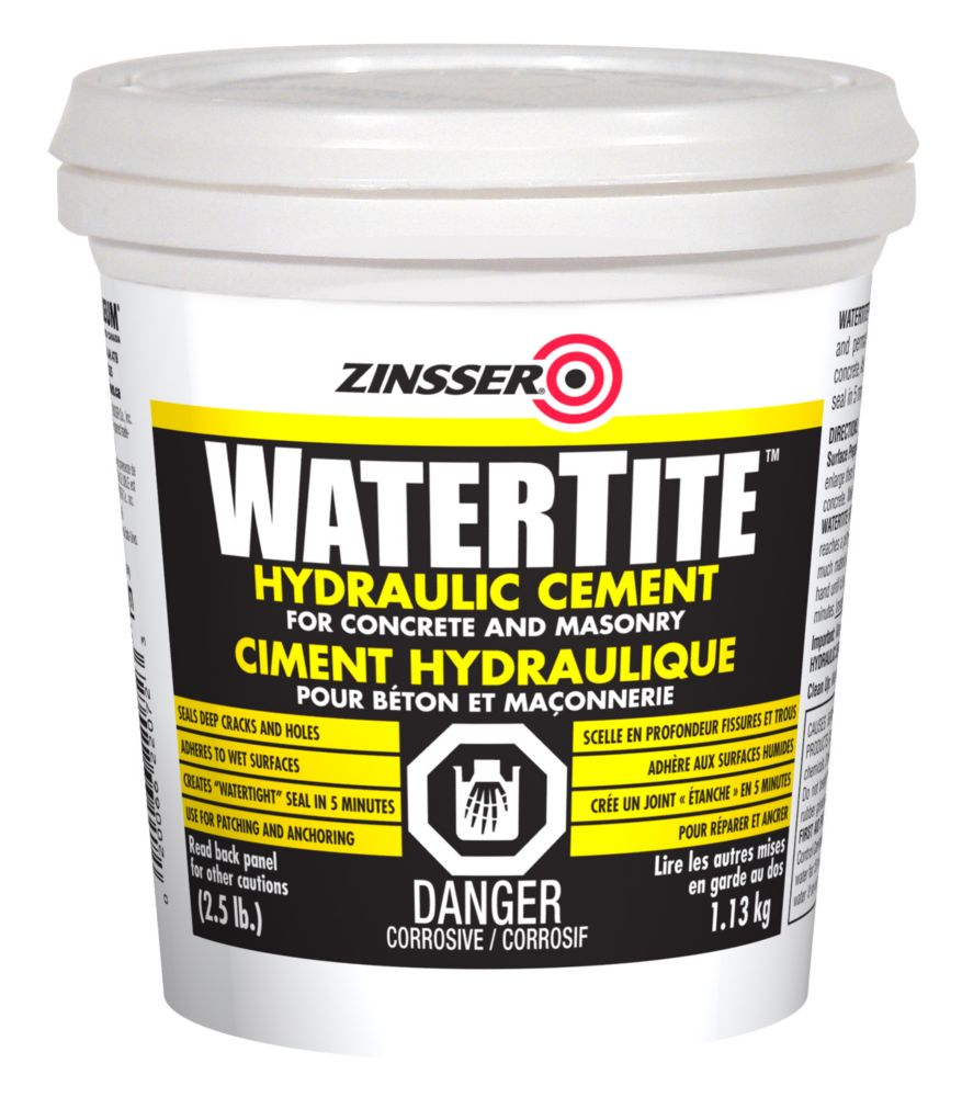 Ciment Hydraulique Watertite