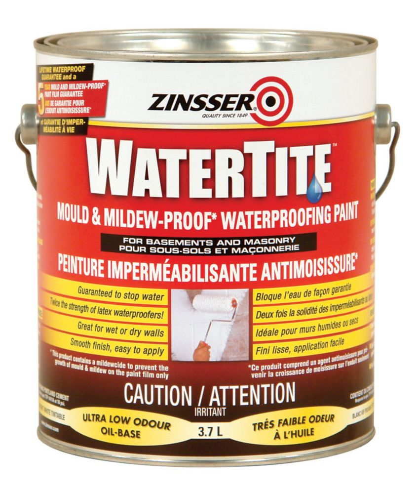 Watertite - Peinture Impermeabilisante Antimoisissure
