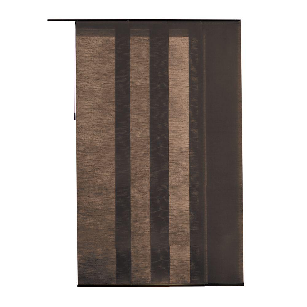 21.5x106 Manhattan Chestnut Fabric Panel (Actual width 21.5 Inch)