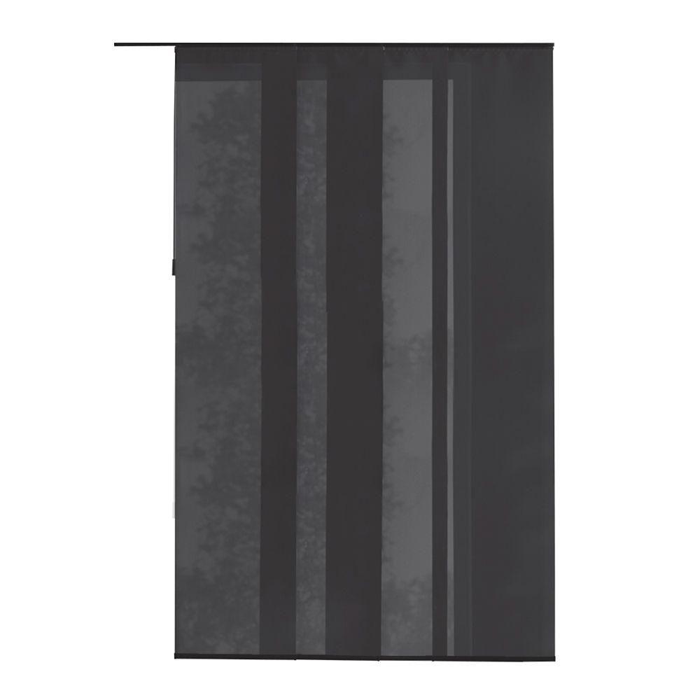 Panneau en tissu, Manhattan gris, 55cmx269cm (Largeur réelle 55cm)