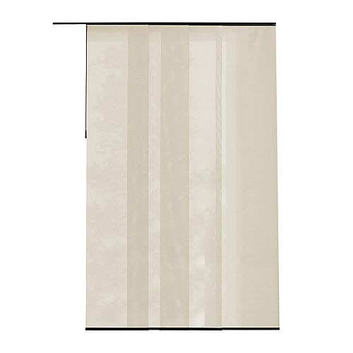 Home Decorators Collection Panel Fabric Manhattan Linen 21.5-inch x 106-inch (Actual width 21.5-inch)