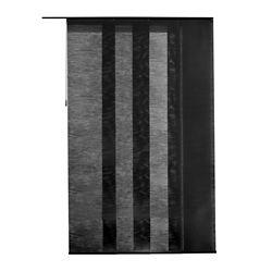 Home Decorators Collection Panneau en tissu, Manhattan noir noyer, 55 cm L x 269 cm H  (Largeur réelle 55 cm)
