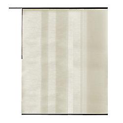 Home Decorators Collection Panneau en tissu, Manhattan naturel, 55 cm L x 213 cm H (Largeur réelle 55 cm)