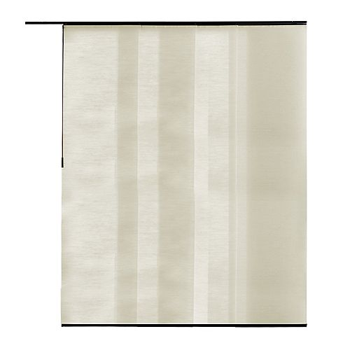 Home Decorators Collection Panel Fabric Maui Natural 21.5-inch x 84-inch (Actual width 21.5-inch)