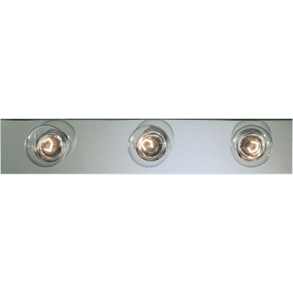 Broadway Collection Chrome 3-light Vanity Fixture