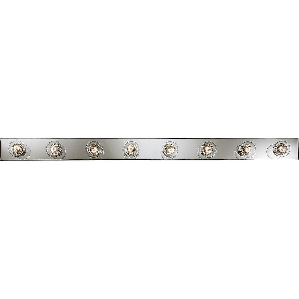Broadway Collection Chrome 8-light Vanity Fixture