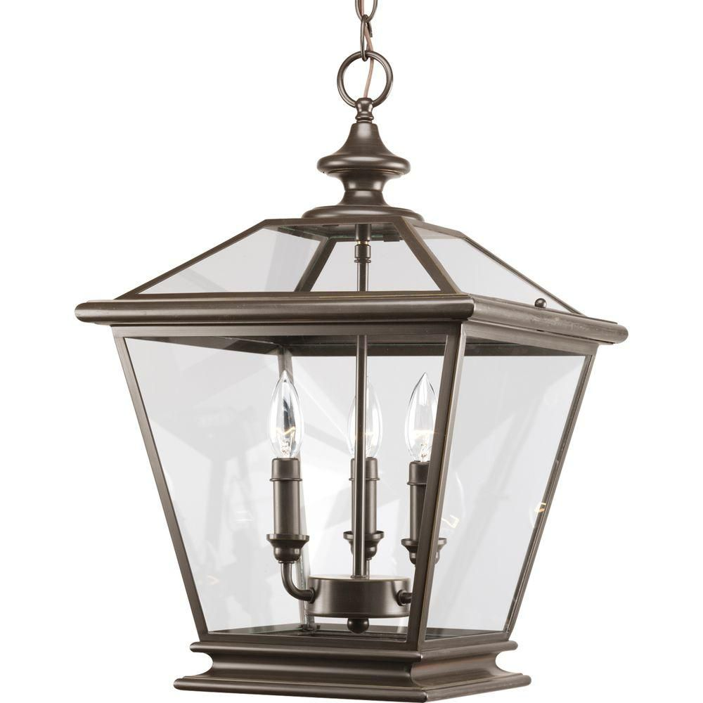 Progress Lighting Crestwood Collection Antique Bronze 4 light