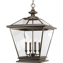 Progress Lighting Crestwood Collection Antique Bronze 4-light Foyer Pendant