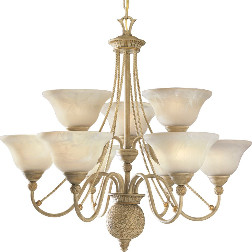 Savannah Collection Seabrook 9-light Chandelier