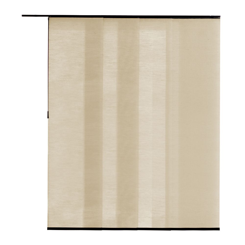 Home Decorators Collection Panel Fabric Maui Tan 21.5-inch x 84-inch (Actual width 21.5-inch)