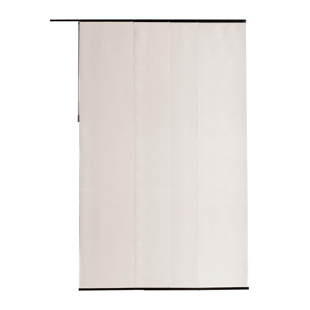 Panneau en tissu, Voilage d'époque blanc, 55cmx269cm (Largeur réelle 55cm)