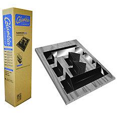 Columbia 28-inch Brown Flashing Kit