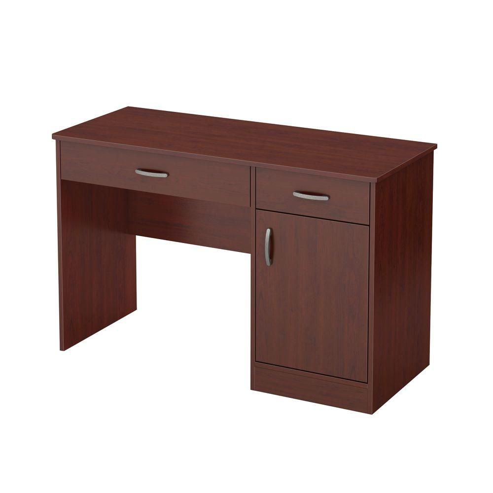 Freeport 47.25-inch x 30.25-inch x 18.75-inch Standard Writing Desk in Brown