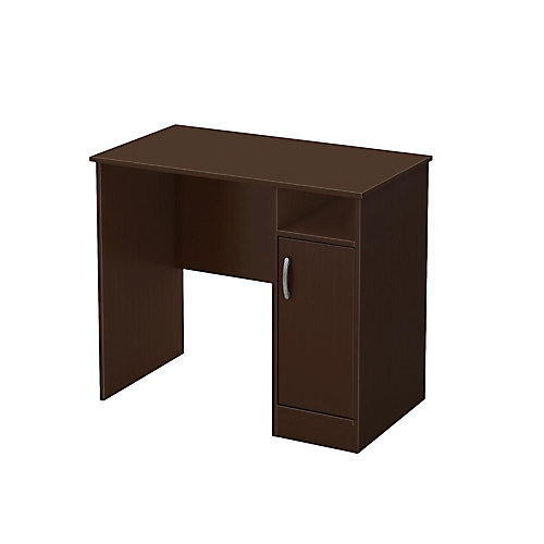 Freeport 35.5-inch x 30.25-inch x 19.5-inch Standard Writing Desk in Brown