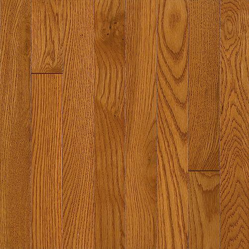 Bruce Plancher, bois massif, 3/4 po x 3 1/4 po, Chêne laiton, 22 pi2/boîte