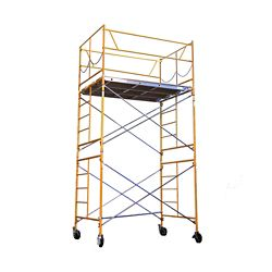 Fortress Industries Llc 11 ft. x 7 ft. x 5 ft. Rolling Scaffold Tower 2000 lb. Load Capacity