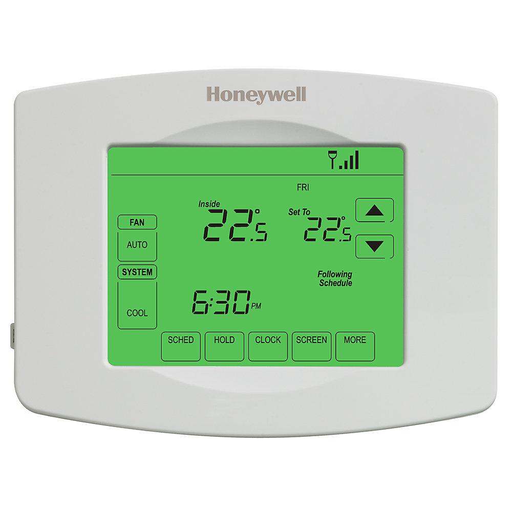 Thermostat Wi-Fi programmable à écran tactile