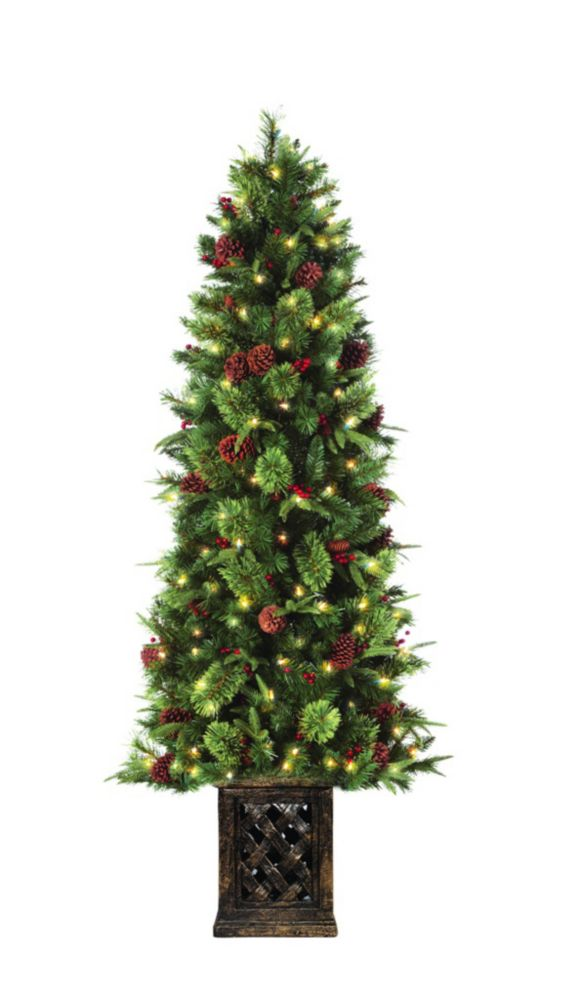 6.5 ft Devon Porch Christmas Tree