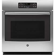 27-inch Single Electric Built-in Oven Manual Cleaning in Stainless Steel