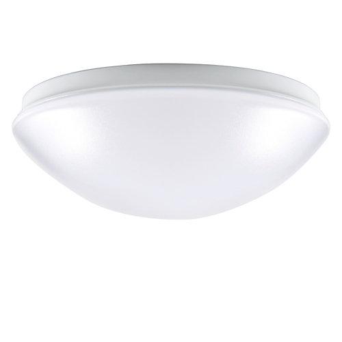 Plafonnier de forme arrondie à DEL intégrée, blanc- ENERGY STAR®