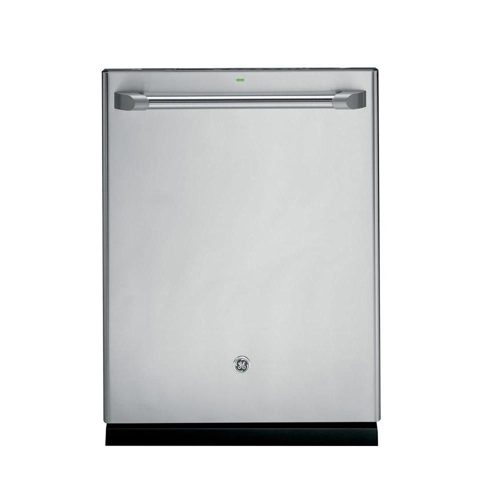 Ge caf 24 inch built in tall tub dishwasher with hidden for 24 inch built in microwave stainless steel