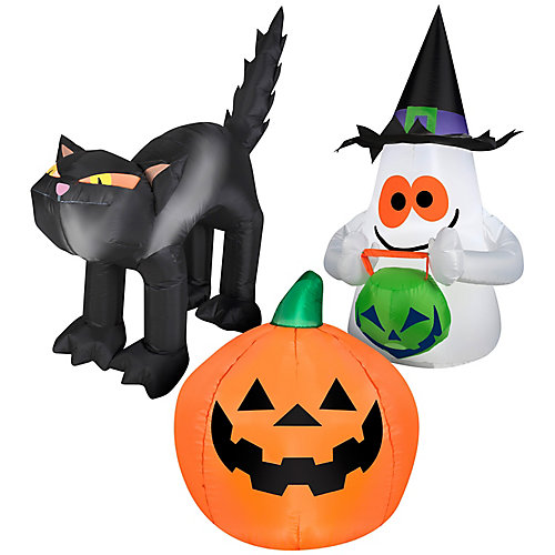 Airblown Outdoor OPP Inflatables/Cat/Pumpkin/Ghost-42 inches