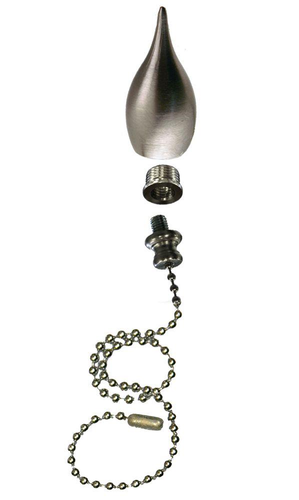 Tear Drop Pull Chain Fan Pull/Finial