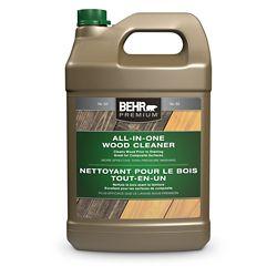 BEHR Fini d'huile pénétrant et transparent pour bois Premium, 3,79 L