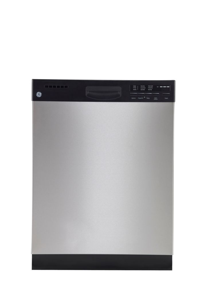 24-inch Built-In Dishwasher with Stainless Steel Tub in Stainless Steel