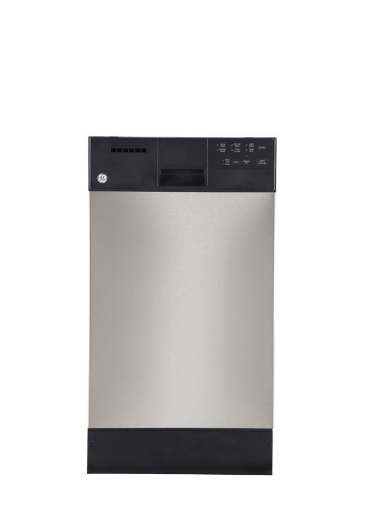 18-inch Built-In Dishwasher with Stainless Steel Tub in Stainless Steel
