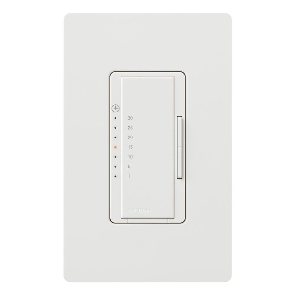 Minuterie Numérique Eco Maestro 5 A - Blanc