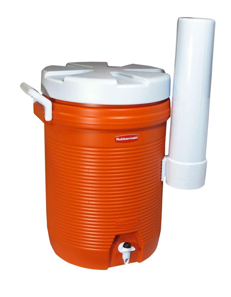 Refroidisseur d'eau rubbermaid de 5 gal sans logo